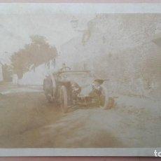 Postales: POSTAL FOTOGRAFICA COCHE, SOBRE 1905 1910 REVERSO TARJETA POSTAL A IDENTIFICAR EL LUGAR. Lote 103689163