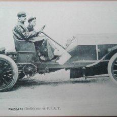Postales: POSTAL COCHE F.I.A.T. NAZZARI ITALIA ITALIE AUTOMOVIL AUTOMOVILISMO PERFECTA CONSERVACION EDIC VCD. Lote 103724295