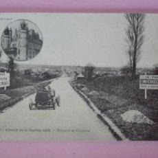 Postales: POSTAL FRANCIA CIRCUITO DE SARTHE 1906 DESCENTE DE CONNERRÉ. Lote 105091719