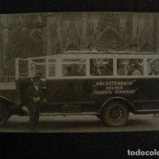 Postales: AUTOCAR -POSTAL ANTIGUA- VER REVERSO - (51.143). Lote 107669451