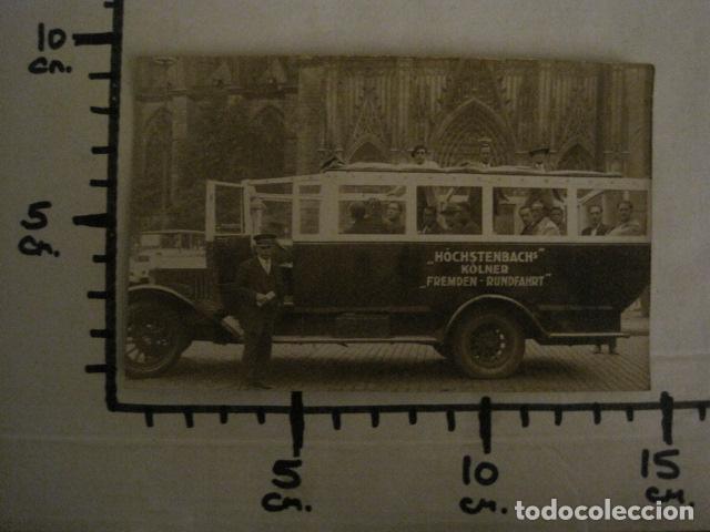 Postales: AUTOCAR -POSTAL ANTIGUA- VER REVERSO - (51.143) - Foto 3 - 107669451