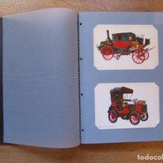 Postales: POSTALES COLECCION DE AUTOMOVILES COCHES ANTIGUOS AÑOS 70. Lote 108902855