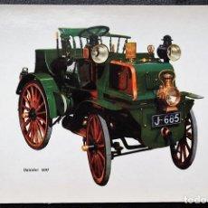 Postales: COCHE: DAIMIER 1897. V.C. NUEVA. Lote 109253726