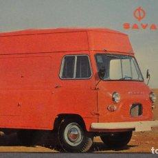 Postales: ANTIGUA POSTAL.AÑO NUEVO.SAVA.LEYLAND IBERICA S.A 1971. Lote 110255719