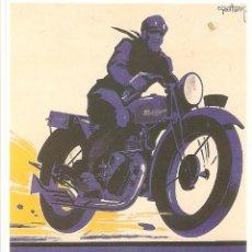 Postales: PUBLICIDAD DE EPOCA, MOTOBECANEM, GEO HAM DE 1930, , SIN CIRCULAR.. Lote 114703703