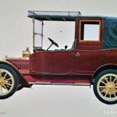 Postales: POSTAL COCHE DE ÉPOCA ADLER 1912 K 7/15 H P COCHES ANTIGUOS 10,3 X 14,9 SIN CIRCULAR. Lote 115401123