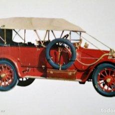 Postales: POSTAL COCHE DE ÉPOCA ITALA 1912 25/35 H P COCHES ANTIGUOS 10,3 X 14,9 SIN CIRCULAR. Lote 115401579