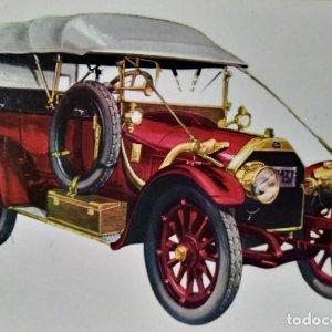 Postal Coche de época ITALA 1912 - Coches antiguos 10,3 x 14,9 SIN CIRCULAR