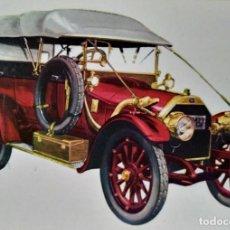 Postales: POSTAL COCHE DE ÉPOCA ITALA 1912 - COCHES ANTIGUOS 10,3 X 14,9 SIN CIRCULAR. Lote 115402323