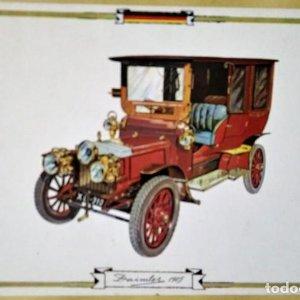 DAIMLER 1905 Postal Coches antiguos - coches de época - coches clásicos 15x10 sin circular