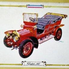 Postales: SPIKER 1907 POSTAL COCHES ANTIGUOS - COCHES DE ÉPOCA - COCHES CLÁSICOS 15X10 SIN CIRCULAR. Lote 115407411