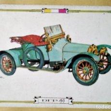 Postales: DFP 1913 POSTAL COCHES ANTIGUOS - COCHES DE ÉPOCA - COCHES CLÁSICOS 15X10 SIN CIRCULAR. Lote 115407663