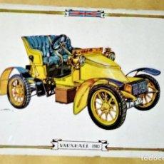 Postales: VAUXHALL 1903 POSTAL COCHES ANTIGUOS - COCHES DE ÉPOCA - COCHES CLÁSICOS 15X10 SIN CIRCULAR. Lote 115408091