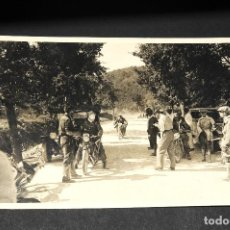 Postales: TARJETA POSTAL FOTOGRAFIA MOTOS EN CARRERAS. Lote 116149579