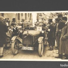 Postales: TARJETA POSTAL FOTOGRAFIA COCHE EN CARRERAS. Lote 116149859