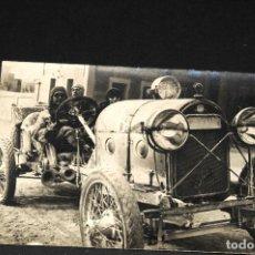Postales: TARJETA POSTAL FOTOGRAFIA COCHE EN CARRERAS. Lote 116150007