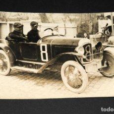 Postales: TARJETA POSTAL FOTOGRAFIA COCHES EN CARRERAS. Lote 116516691