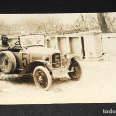 Postales: TARJETA POSTAL FOTOGRAFIA COCHES EN CARRERAS. Lote 116517719