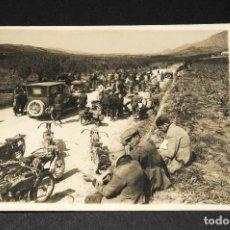Postales: TARJETA POSTAL FOTOGRAFIA MOTOS EN CARRERAS. Lote 116899595