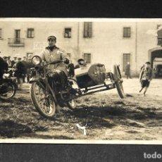 Postales: TARJETA POSTAL FOTOGRAFIA COCHES EN CARRERAS. Lote 116900339