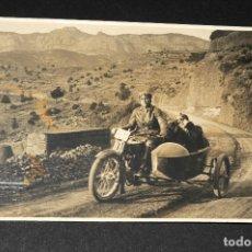 Postales: TARJETA POSTAL FOTOGRAFIA MOTOS EN CARRERAS. Lote 117423827