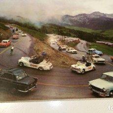 Postales: PRECIOSA POSTAL DEL TOUR DE FRANCIA - ENVALIRA - ESCUDO DE ORO. Lote 117711827