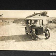 Postales: TARJETA POSTAL FOTOGRAFIA COCHE DE CARRERAS. Lote 117903411