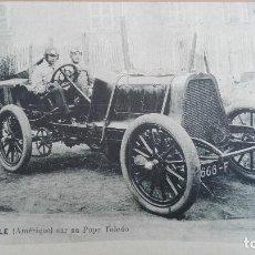 Postales: POSTAL COCHES AUTOMOVILISMO LYTTLE AMERICA USA SUR POPE TOLEDO EDI VCD PERFECTA CONSERVACIO DEPORTES. Lote 121600715