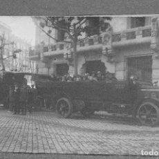 Postales: TARJETA POSTAL FOTOGRAFIA COCHES EN CARRERAS. Lote 123563803
