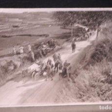Postales: TARJETA POSTAL FOTOGRAFIA MOTOS EN CARRERAS. Lote 125869771