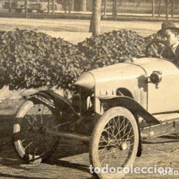Postales: TARJETA POSTAL FOTOGRAFIA COCHE EN CARRERAS - Foto 2 - 126217159