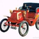 Postales: COCHE GEORGES RICHARD 3'5 HP 1 CILINDRO DE 1900. Lote 127124271