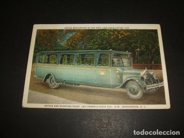 POSTAL AUTOMOVIL AUTOCAR AMERICANO (Postales - Postales Temáticas - Coches y Automóviles)