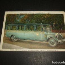 Postales: POSTAL AUTOMOVIL AUTOCAR AMERICANO. Lote 128538415