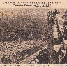 Postales: MAGNÍFICA POSTAL L´EXPEDITION CITROËN CENTRE ASIE 3º MISSION G. M. HAARDT 1931-1932 CRUCERO AMARILLO. Lote 129531439