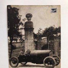 Postales: TARJETA POSTAL FOTOGRAFIA COCHE DE CARRERAS- AUTOMOVIL BUIK. Lote 129546395