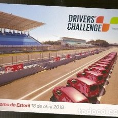 Postales: PORTUGAL ** & INTERO POSTAL, DRIVERS CHALLENGE CTT, AUTÓDROMO DO ESTORIL 2018 (7979). Lote 130612454