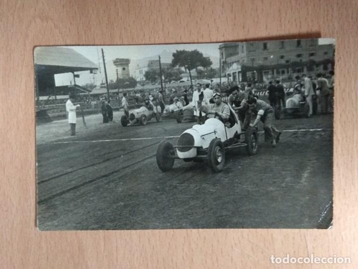 Postales: LOTE DE 4 FOTOS DE CARRERAS DE COCHES - Foto 6 - 132171366