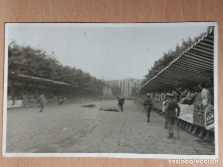 Postales: LOTE DE 4 FOTOGRAFIAS CARRERAS DE MOTOS - Foto 2 - 132335070