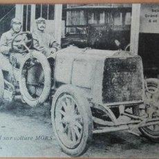 Postales: POSTAL COCHES AUTOMOVILISMO GENATZI GRAND PRIX 1908 EDIC HIRONDELLE PERFECTA CONSERVAC DEPORTES. Lote 133701806