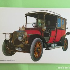 Postales: POSTAL - SIN USO - COCHE - PANHARD LEVASEUR 1910. Lote 134228550