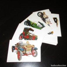 Postales: LOTE DE 30 POSTALES DE AUTOMÓVILES ANTIGUOS. SIN CIRCULAR. C Y Z, BARCELONA.. Lote 134861438