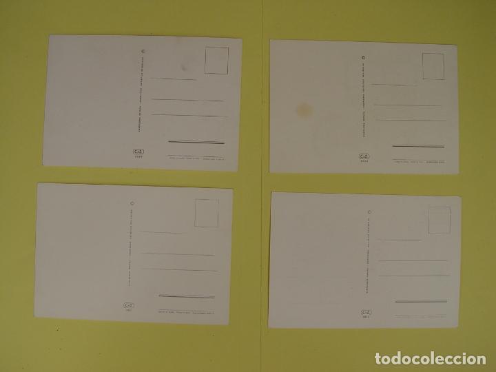 Postales: Lote de 4 tarjetas postales (1972) COCHES ANTIGUOS ¡Sin circular! ¡Originales! - Foto 2 - 137435906