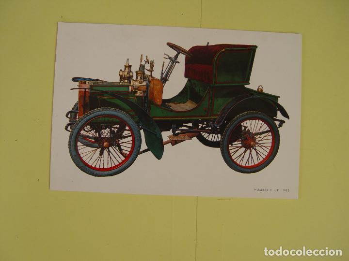 Postales: Lote de 4 tarjetas postales (1972) COCHES ANTIGUOS ¡Sin circular! ¡Originales! - Foto 3 - 137435906