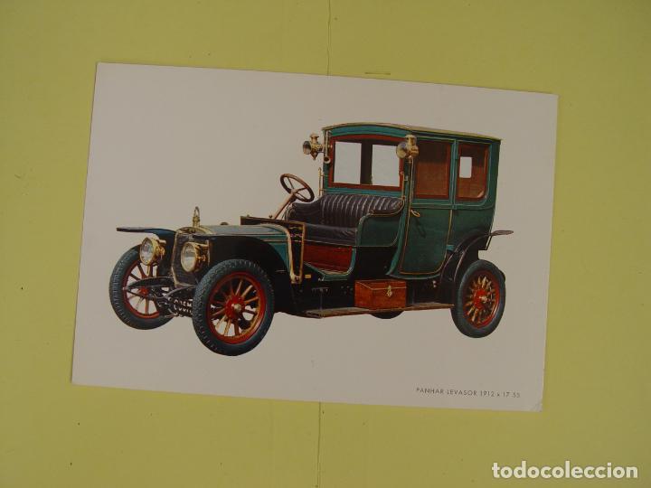 Postales: Lote de 4 tarjetas postales (1972) COCHES ANTIGUOS ¡Sin circular! ¡Originales! - Foto 5 - 137435906