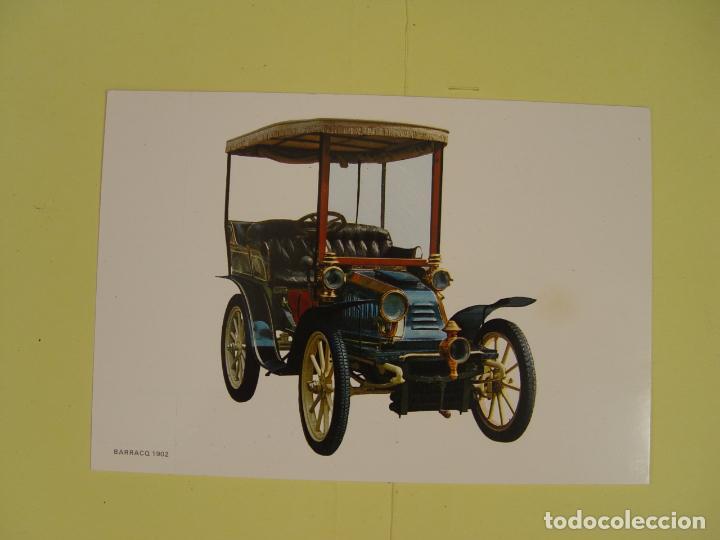 Postales: Lote de 4 tarjetas postales (1972) COCHES ANTIGUOS ¡Sin circular! ¡Originales! - Foto 6 - 137435906