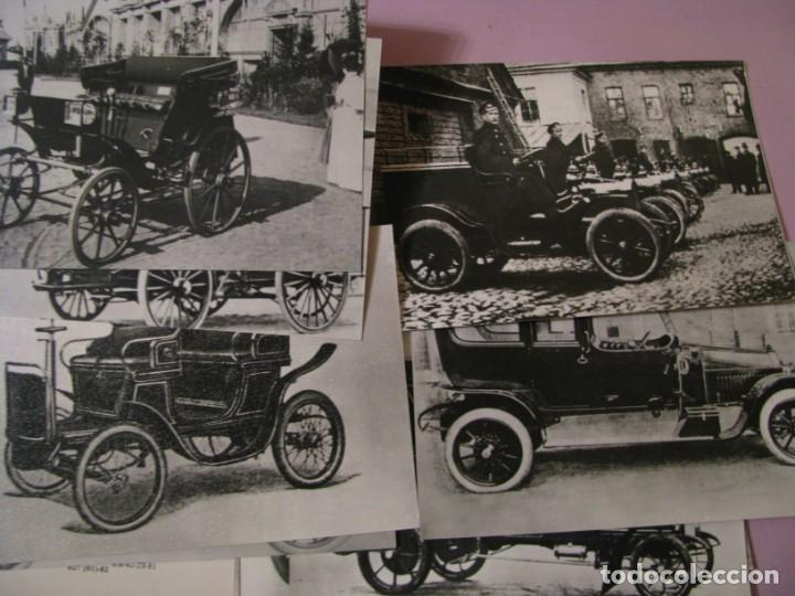 Postales: ESTUCHE CON 12 POSTALES DE SERIE AUTOMÓVILES. 1982. USSR. EN RUSO. - Foto 2 - 138896798