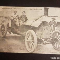 Postales: POSTAL AUTOMOVIL COCHE MARCA ITALA GRAN PREMIO AUTOMOVILISMO 1908. Lote 140599694
