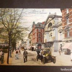 Postales: POSTAL AUTOMOVIL COCHE EN CALLE 1912. Lote 140600522