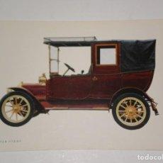Postales: POSTAL AÑOS 70 SIN CIRCULAR COCHE ANTIGUO , C Y Z . ADLER 1912 K 7/15 H.P .. Lote 144039402